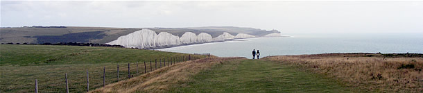 Seven Sisters, viewed from Seaford Head